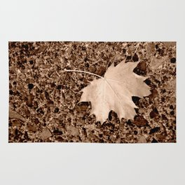 Fall Maple Leaf Rug