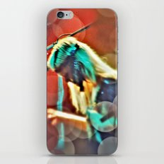 One touch of the keys iPhone & iPod Skin