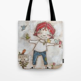 Patient and Still - A place for birds and bird lovers to gather Tote Bag