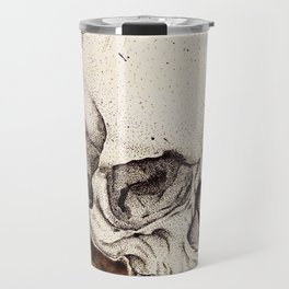 Skull Study No.6 (aka - Barrie) Travel Mug