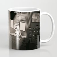 office Mugs featuring Quill's Office by Andrew Formosa