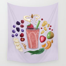 Smoothie Diagram Wall Tapestry