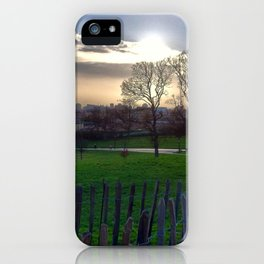Primrose Contrast iPhone Case