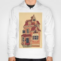 victorian Hoodies featuring Victorian House by Syrupea
