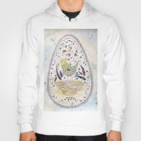 egg Hoodies featuring Egg by Infra_milk