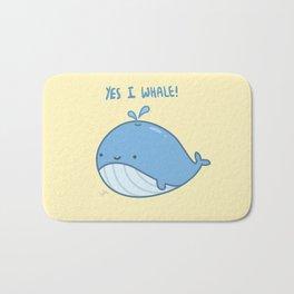 Yes I Whale Bath Mat