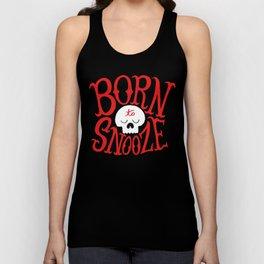 Born to Snooze Unisex Tank Top