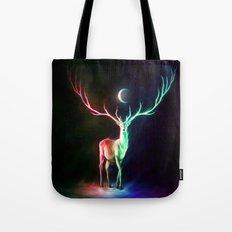 Moon Deer Tote Bag