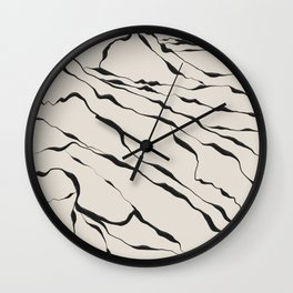 Mountain know the secret III Wall Clock