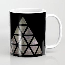 Galaxy Triangular Bicolor Coffee Mug