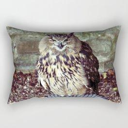 Happy Owl. Rectangular Pillow
