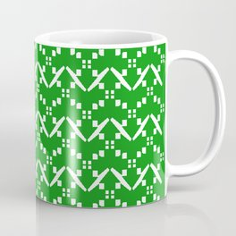 Abstract in vert Coffee Mug