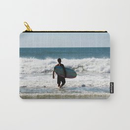 Surfer Dude At The Beach Carry-All Pouch