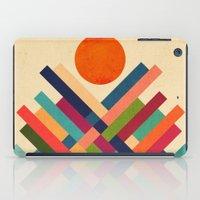 sun iPad Cases featuring Sun Shrine by Picomodi