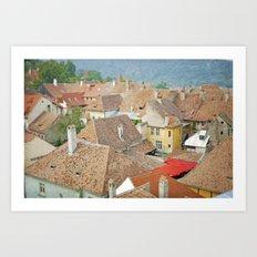 Transylvania II Art Print