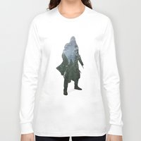 assassins creed Long Sleeve T-shirts featuring Assassins Creed - Woodland 2 by Fatih