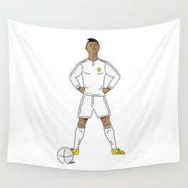 Cristiano Ronaldo Wall Tapestry
