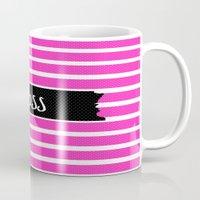 boss Mugs featuring Boss by msstephiebaby