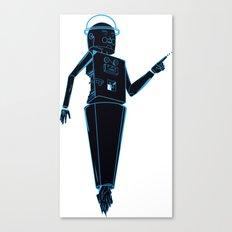 Space robots  Canvas Print