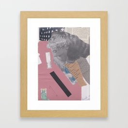 Clarissa on my mind Framed Art Print