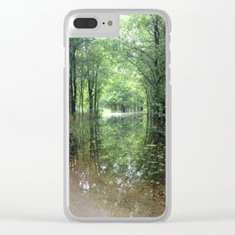 Flooded Path Clear iPhone Case