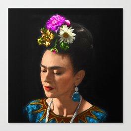 FRIDA KAHLO TURQUESA Canvas Print