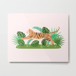 Jungle Cat Metal Print