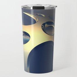 Metallic Space Pods Travel Mug