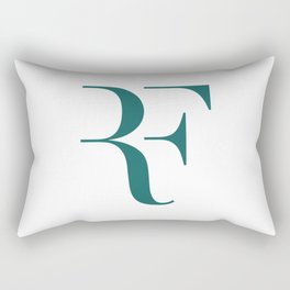 Roger Federer Logo Rectangular Pillow