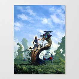 Alien Capture Canvas Print