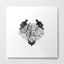 Pure and Purfect Metal Print