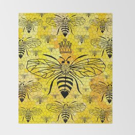 Queen Bee... Throw Blanket