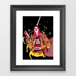 Guns N' Honey : Full Blood Goon x Hot Framed Art Print
