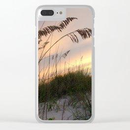 Sunset Sea Breeze Clear iPhone Case