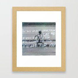 We Were Promised Jetpacks - Quiet Little Voices Framed Art Print