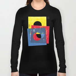 Basic in red, yellow and blue Long Sleeve T-shirt