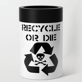 Recycle Black Can Cooler