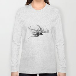 Octopus Rubescens Long Sleeve T-shirt