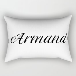 Name Armand Rectangular Pillow