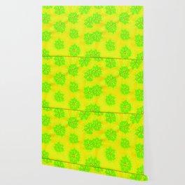Lemon Lime Rose Wallpaper