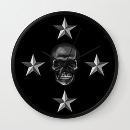 Skull Collection Wall Clock