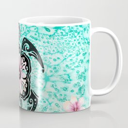 Hibiscus Turtle Coffee Mug