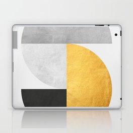 Golden Geometric Art VII Laptop & iPad Skin