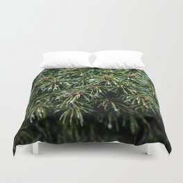 Coniferous Rainforest Duvet Cover