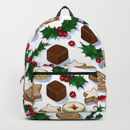 Christmas Treats and Cookies Backpack