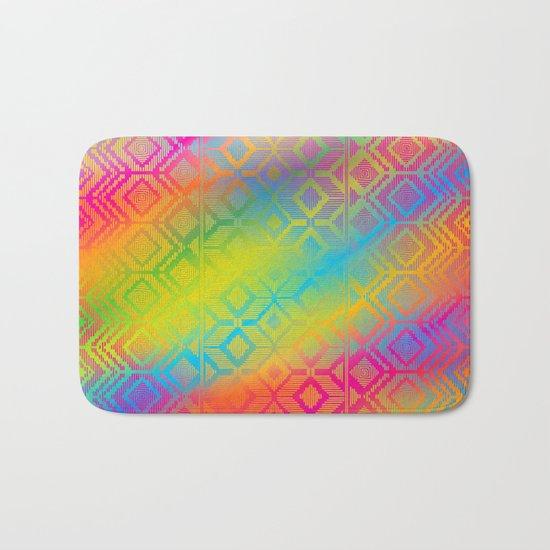 inca rainbow Bath Mat