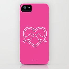 Bird Love iPhone Case