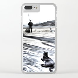 The Waiting Game Art Clear iPhone Case