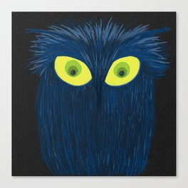The Blue Owl Canvas Print