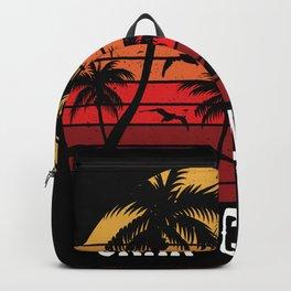 Gran Canaria Palm Trees Holiday Motif Gift Idea Backpack